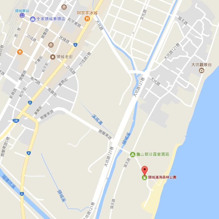 宜蘭IG打卡祕境-頭城濱海森林公園