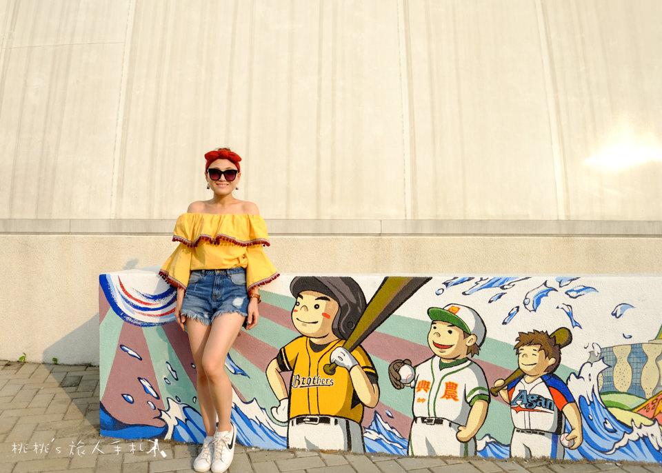IG打卡景點》台中洲際棒球文創園區│棒球故事館 迷你蛋 貨櫃屋市集 休閒新地標