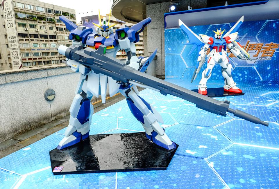 展覽》巨型鋼彈亞洲巡迴展GUNDAM docks at TAIWAN 就在統一時代百貨台北店