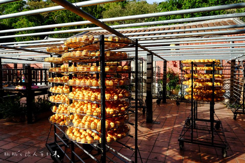 觀光工場推薦》新竹新埔金漢柿餅教育農園│曬柿餅季節又到了,快來吃柿子吧!