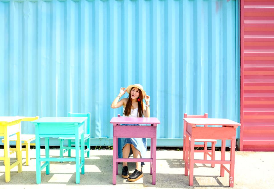 IG打卡美食》KoKoMo私房惑櫃 彰化員林親子餐廳│彩色貨櫃.沙坑.泳池.遊戲室 大人狂拍小孩狂玩!