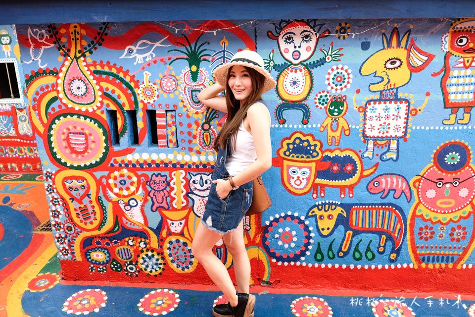 IG打卡景點》台中彩虹眷村 彩虹爺爺靈感大爆發│英國及日本遊客票選「台灣最想去的拍照景點」在這裡!