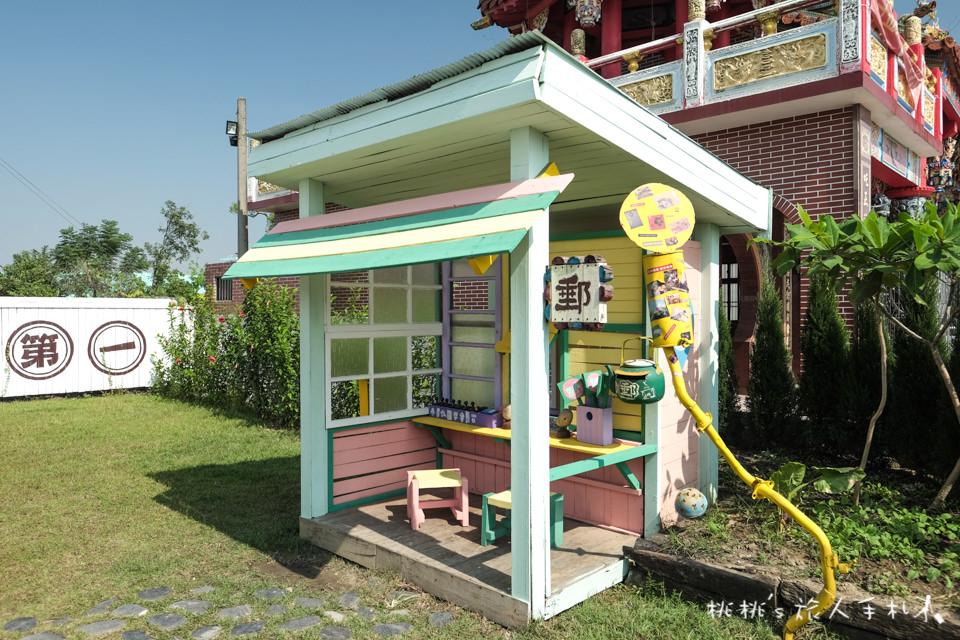 IG打卡景點》台南優雅農夫藝文農場│超美2D彩色油畫餐廳 媲美韓國首爾2D黑白漫畫咖啡廳