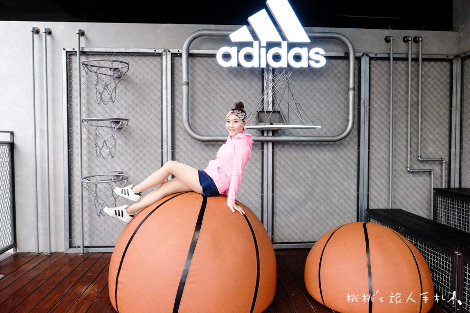 IG打卡景點》台中adidas愛迪達。顛倒籃球場、三片葉空中花園│勤美綠園道門市