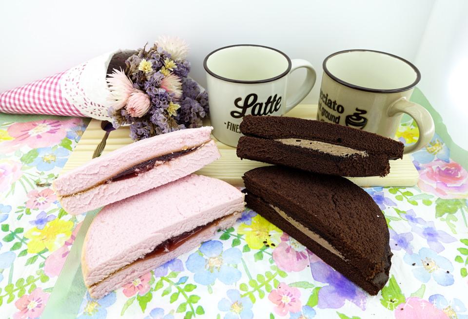 全家FamilyMart》草莓天使蛋糕&重黑巧克力蛋糕 開箱分享