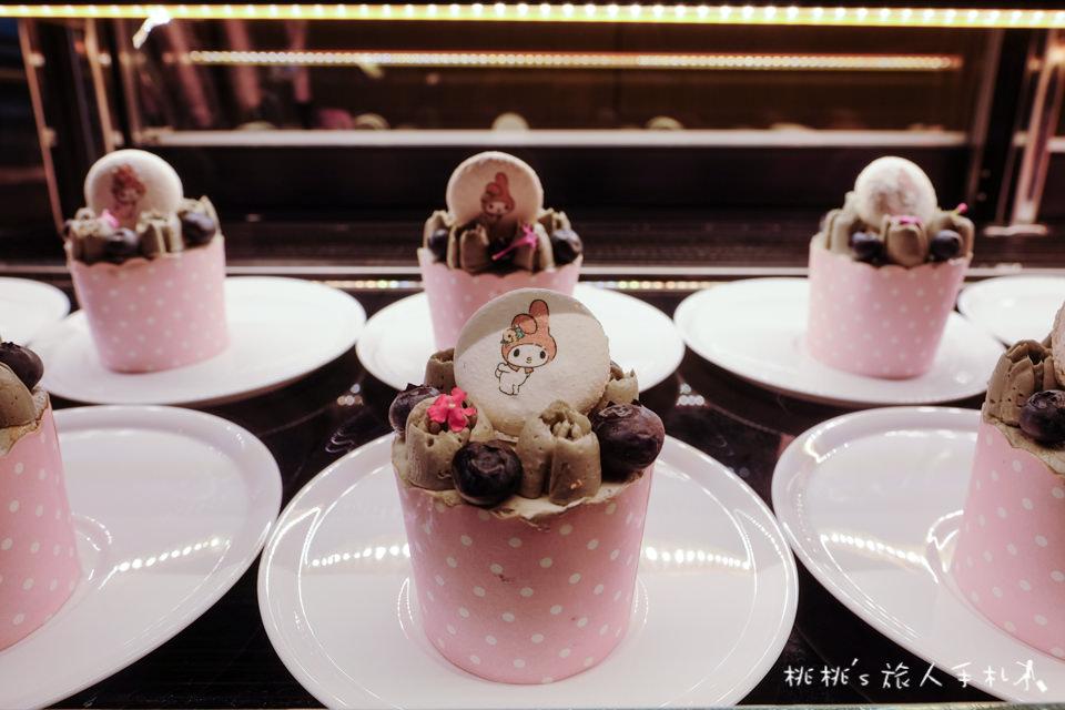 台北主題餐廳》美樂蒂花草風期間限定咖啡廳 My Melody X Amandier│首度登台