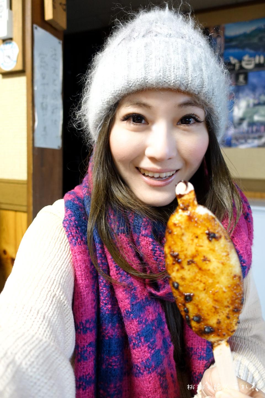 白川鄉美食》五平餅いさなみ(Isanami)│合掌村特色小吃 搭配甘酒最對味!