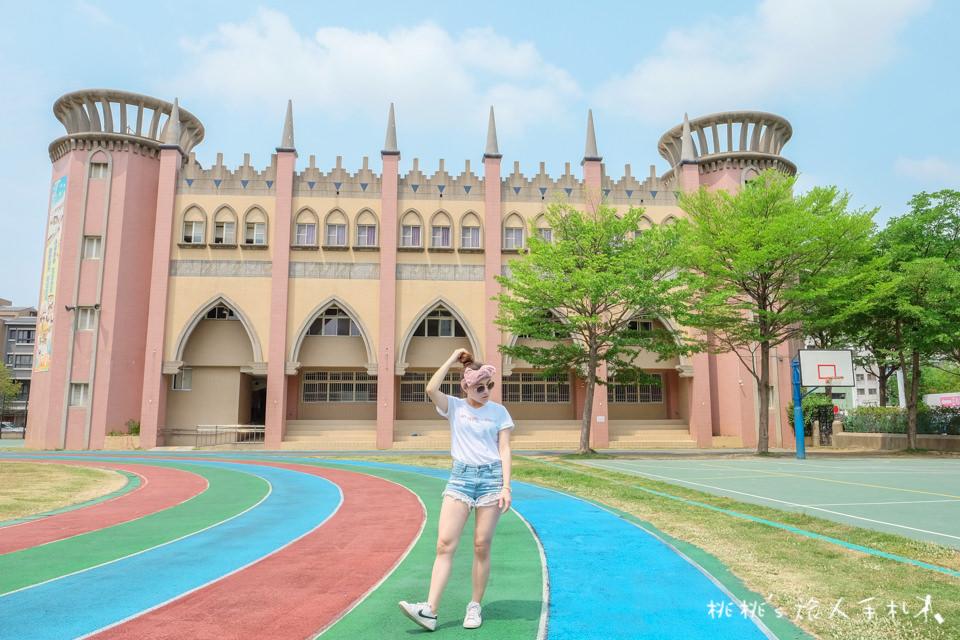 IG打卡景點》夢幻城堡與阿拉伯皇宮,這裡是台中市永春國小!