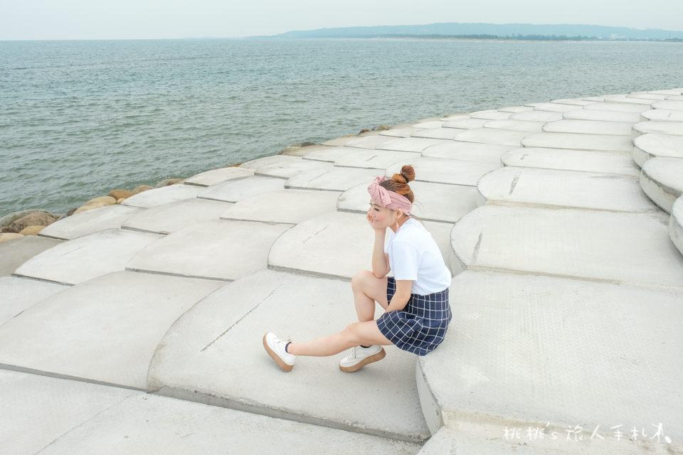 IG打卡景點》新竹南寮漁港 魚鱗天梯│夢幻版海邊豆腐岩 地點公開!