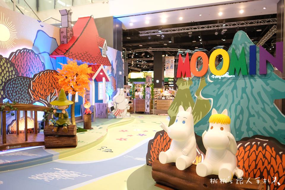 IG打卡景點》嚕嚕米的夏日旅行│台茂購物中心 期間限定特展免費參觀!