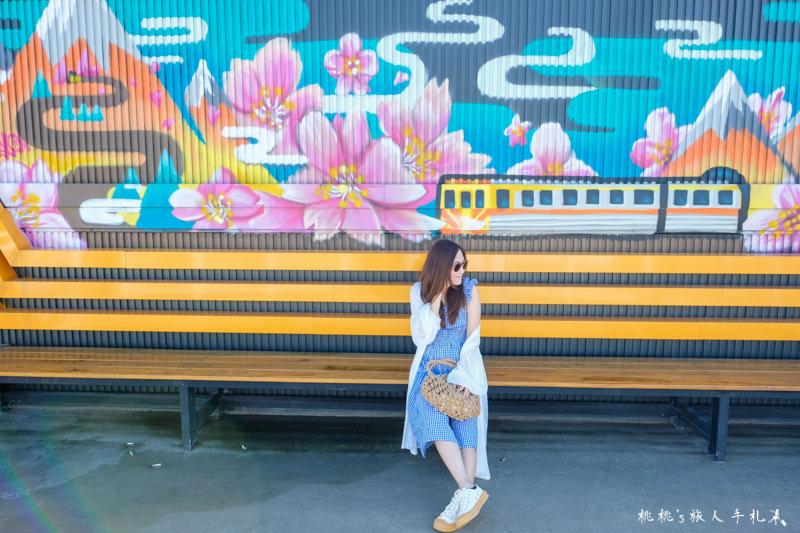 特色超商》7-11新竹騰達門市│櫻花鐵道Always浪漫-IG打卡景點