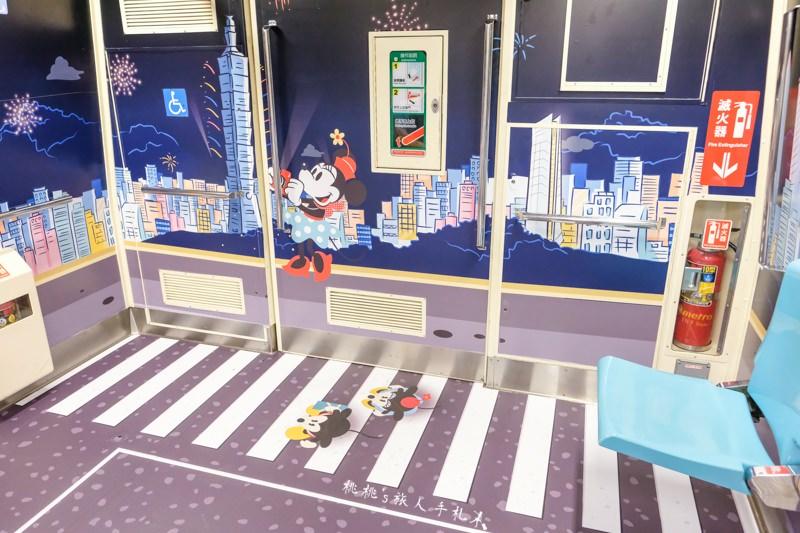 台北捷運×迪士尼》米奇彩繪列車遊台北 車廂主題+時刻表