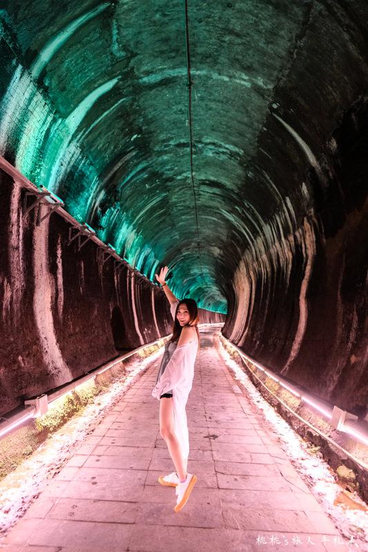 苗栗打卡景點》功維敘隧道 貓貍山公園│光影隧道的奇幻旅程