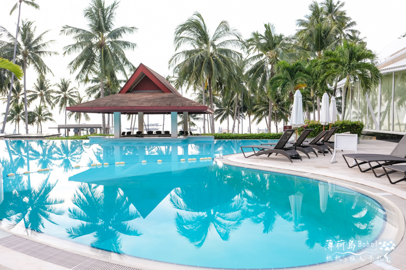 薄荷島住宿》海藍渡假村 Henann Alona Resort│無邊際泳池沙灘超推薦