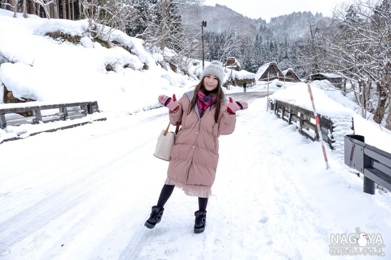 白川鄉合掌村一日散策》冬天下雪 交通.景點.美食推薦