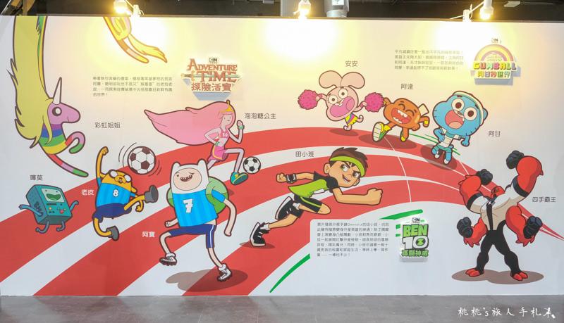 台北展覽》卡通頻道猴塞雷!瘋狂運動會│闖關成功就送獨家紀念品