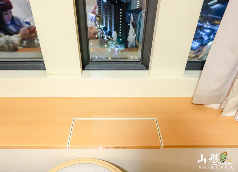 山形住宿》山形站西口華盛頓飯店│免費展望台欣賞夜景