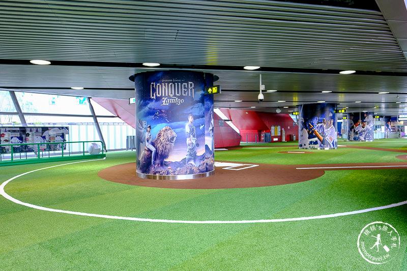 桃園景點》A19桃園體育園區站│棒球場特色捷運站