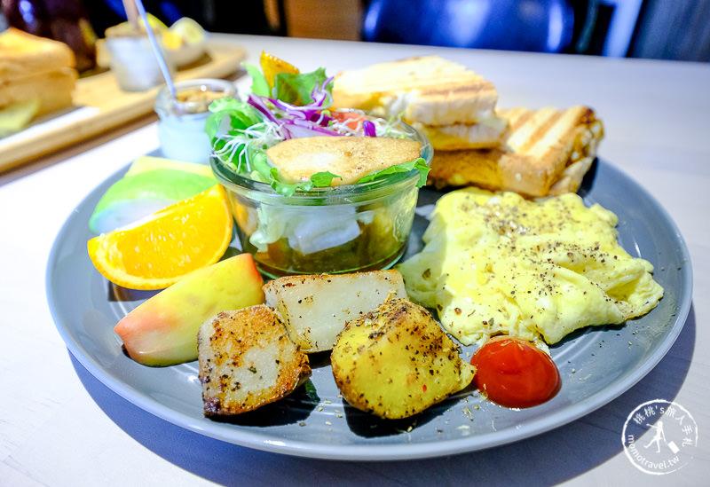 基隆美食》默默吃Mer Cafe早午餐│彩色小鎮美味亮點
