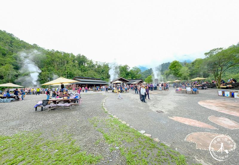 宜蘭景點》清水地熱公園│遊客中心食材超齊全 免自備
