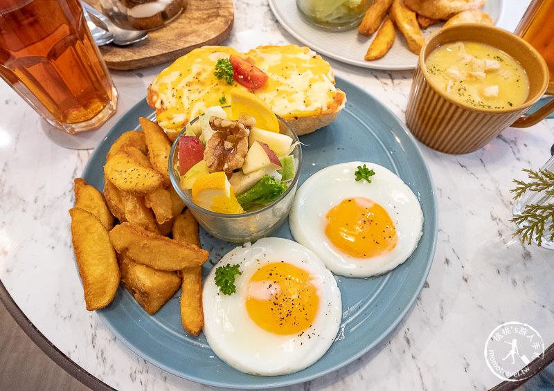 板橋早午餐》樂點咖啡L'idée Café│富士山提拉米蘇必點!