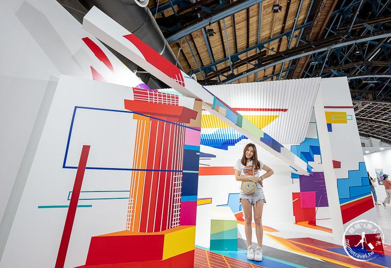 台北展覽》聚膠行動#TapeArt全球首展│創意與想像力的奇幻空間