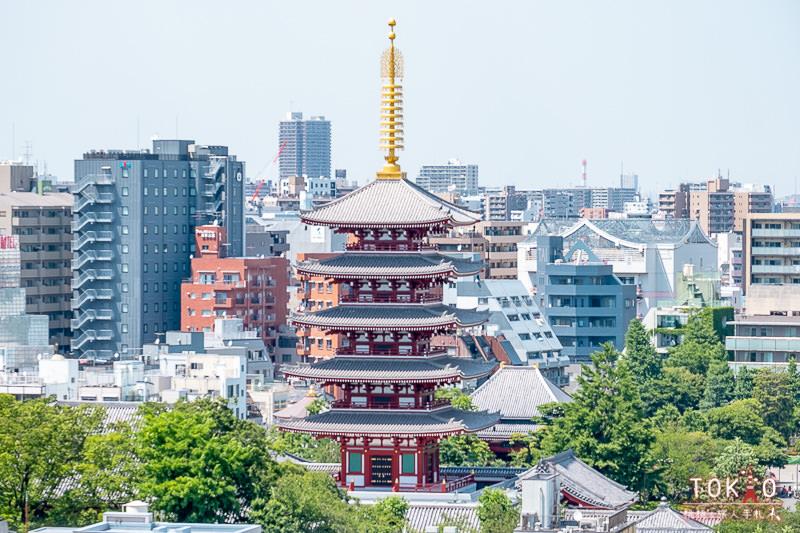 東京景點》淺草文化觀光中心│免費夜景觀景台私房推薦