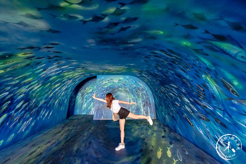 宜蘭景點》祝大漁物產文創館│3D彩繪魚龍捲隧道 南方澳必拍景點推薦!