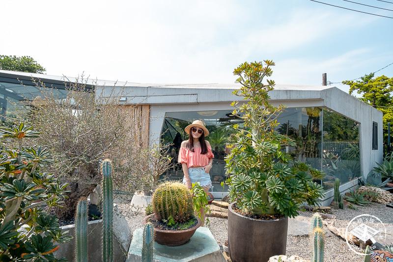 彰化景點》酉Succulent&Artwork│夢幻仙人掌玻璃屋