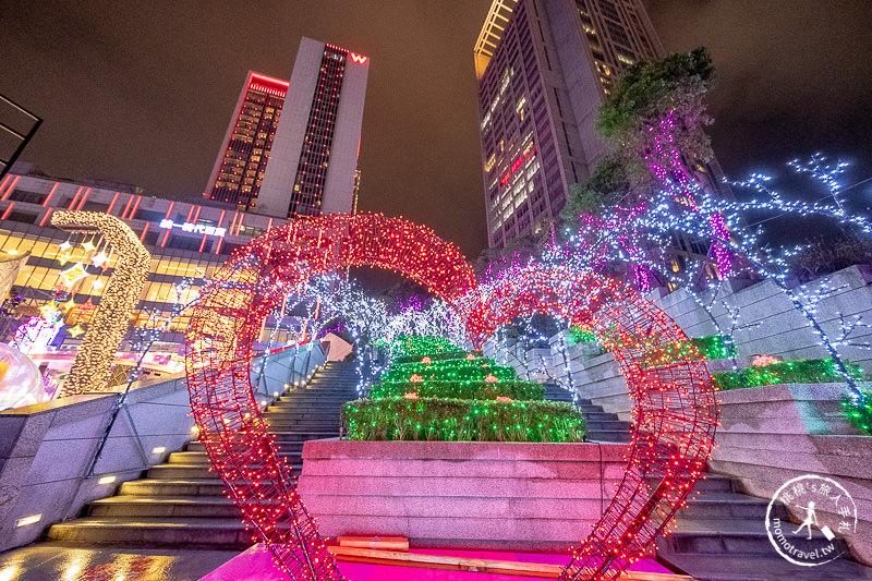 2019聖誕節》統一時代百貨台北店│拉斯維加斯不夜城 愛Sharing聖誕遊樂園
