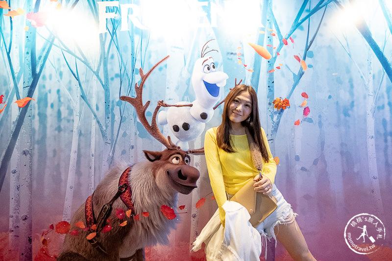 快閃店》冰雪奇緣期間限定店│艾莎.安娜.雪寶 驚喜現身台北京站 再現冰雪魔法