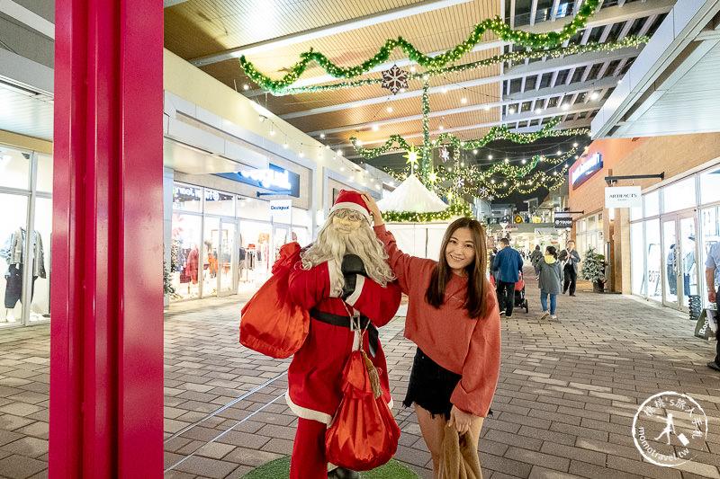 2019聖誕節》桃園華泰名品城聖誕村│繽紛雪景聖誕市集環遊世界大街