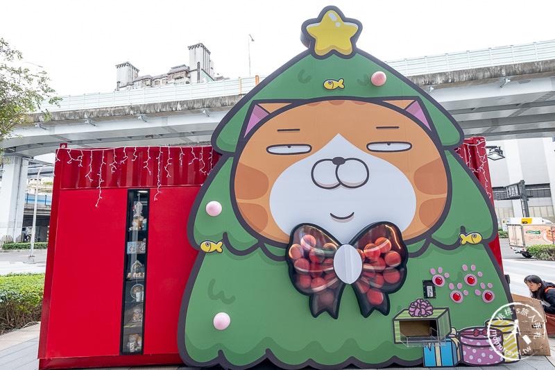 快閃店》白爛貓玩轉派對期間限定店│巨大扭蛋歡慶三創耶誕節