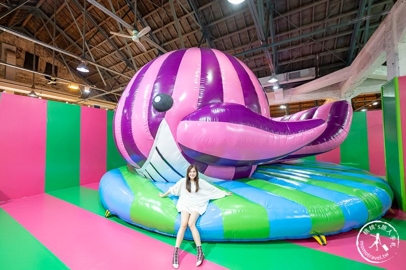 台北展覽》黃色小鴨來華山了!霍夫曼的療癒動物氣墊樂園