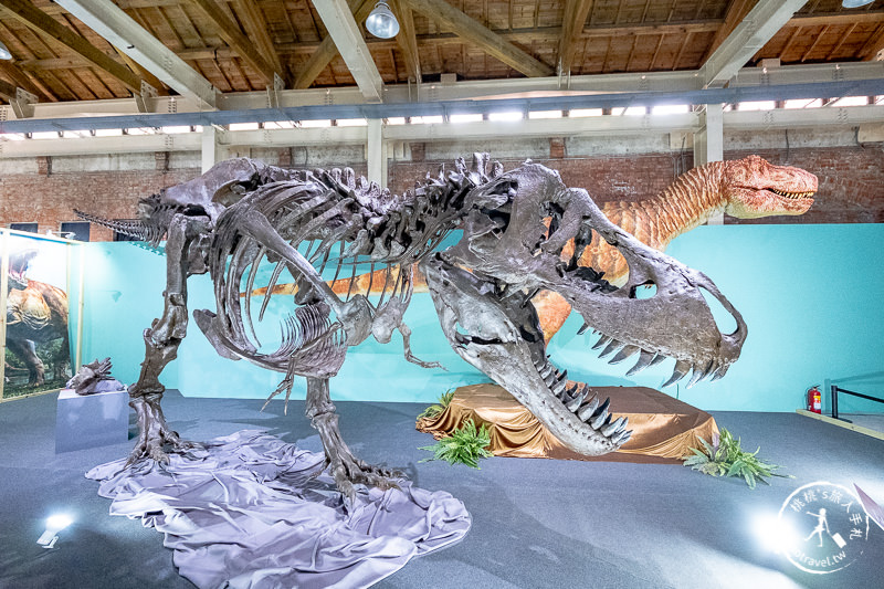 台北展覽》日本超大恐龍展│華山恐龍出沒中!!!