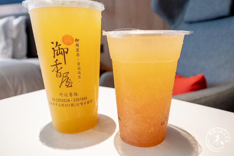 嘉義美食》源興御香屋│必買葡萄柚綠茶 先打電話訂才不會排到暈