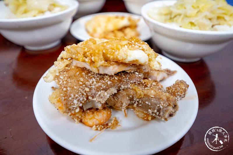 基隆美食》天天鮮排骨飯│這樣拍出華麗蝦仁排骨飯