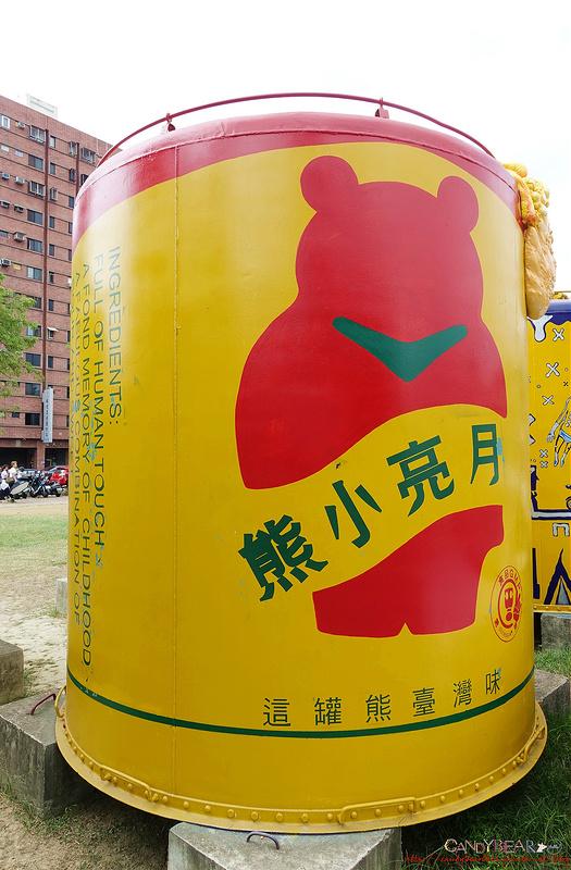 IG打卡景點》台中文創園區(舊台中酒廠)│彩繪大酒桶 飲料罐變大了!!!