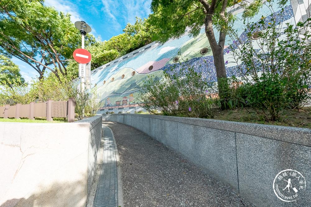 DSCF2815新北景點》山佳火車站 走過百年歷史│鐵道公園、農村彩繪巷 精彩重生