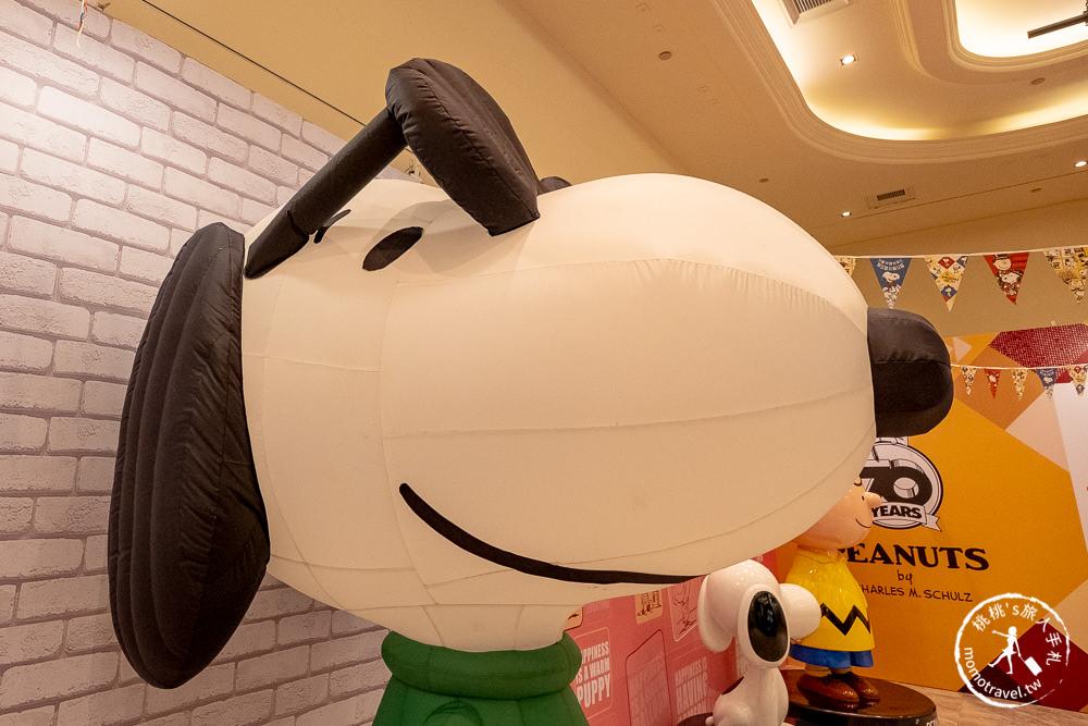 快閃店》史努比70週年巡迴特展-台北最終場(免門票)│花生漫畫/Snoopy連載50年紀念(展期時間.展覽看點.周邊商品介紹)