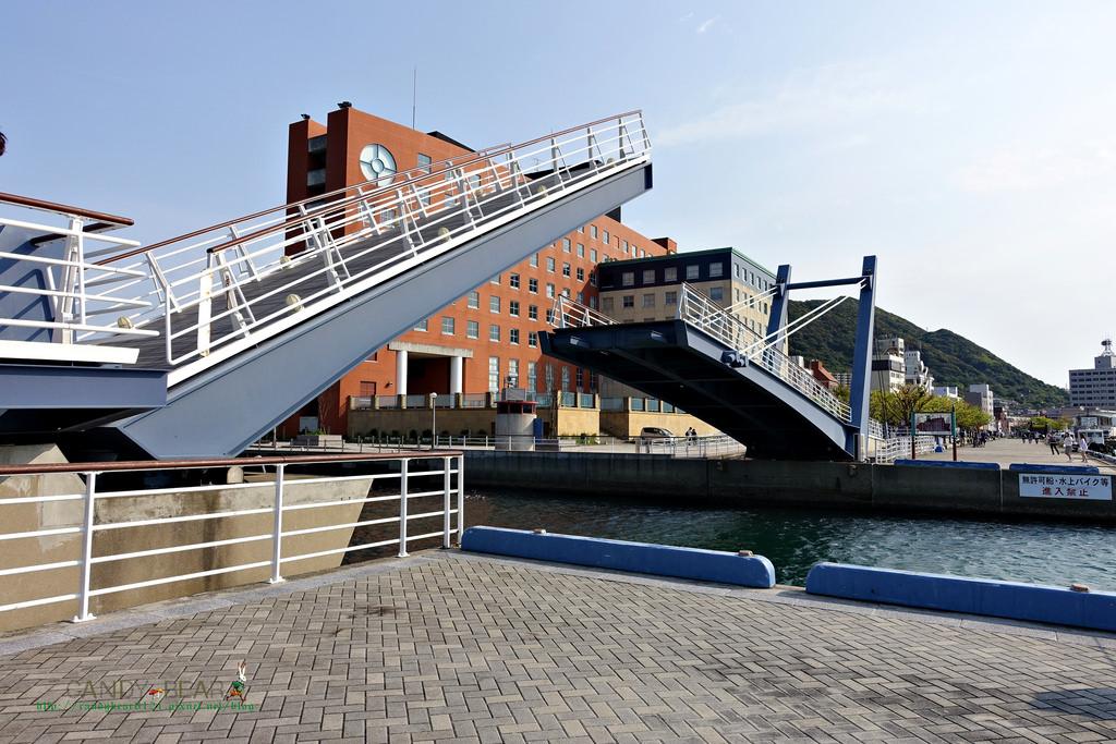 門司港站景點│藍翼門司吊橋